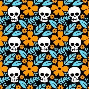 Summer Hula Skulls