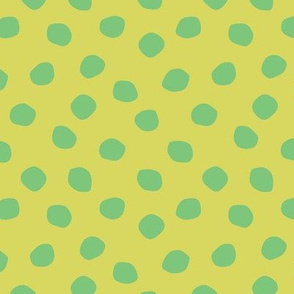 green on green dots
