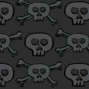 Pirate's Life - Subtle Skulls and Crossbones - Large