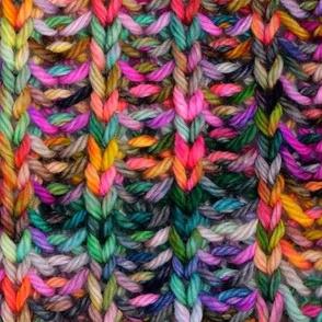 Knitted brioche fabric - seamless