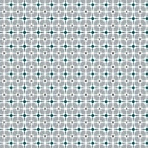 The Green the Grey and the Black: Mini Print Twinkle Plaid