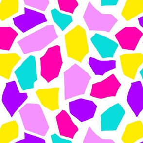 Large terrazzo in candy brights