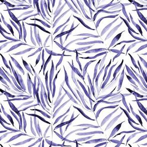 Amethyst palm springs - watercolor tropical leaves p289