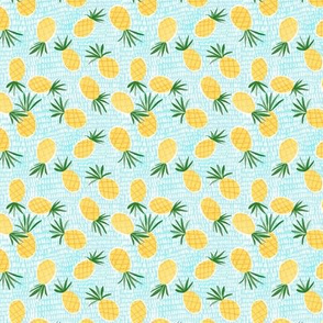 Pineapple Toss - mini print