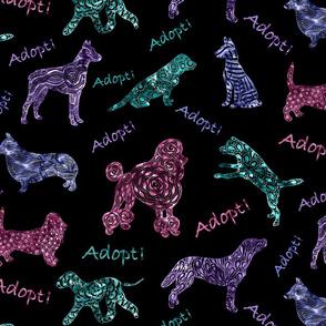 Adopt a Doodle Dog--multicolor