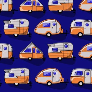 Little Campers Blue