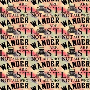 Not All Who Wander Jeep