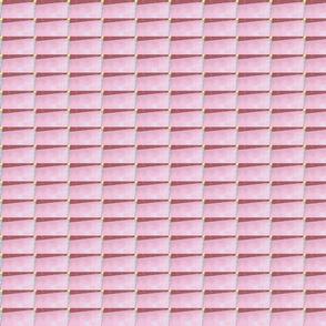 Pink Wooden Blinds