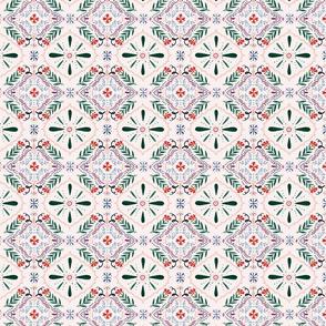 Pink Portugese Tile