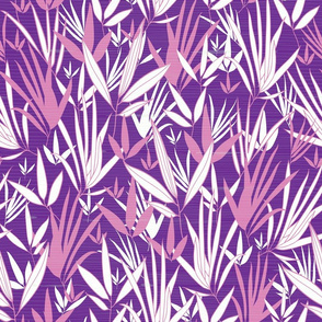 Bamboo Textured Purple Pink