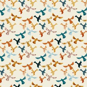 Abstract birds-CREAM-small