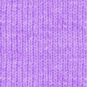 Handspun knitted fabric - purple