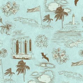 Havana Dreams - Toile de Cuba