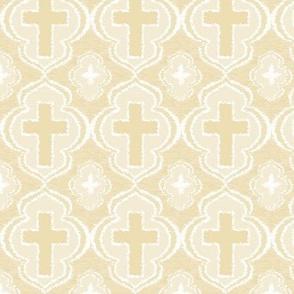 Christian Cross Ivory