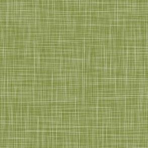 Solid Linen - Leaf Green (Enchanted Forest)