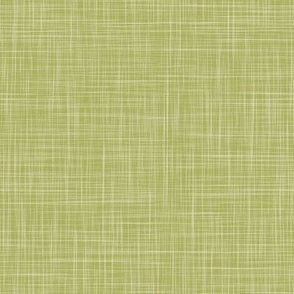 Solid Linen - Lime Green (Enchanted Forest)