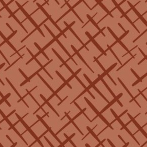 Paintbrush Crosshatch Cocoa