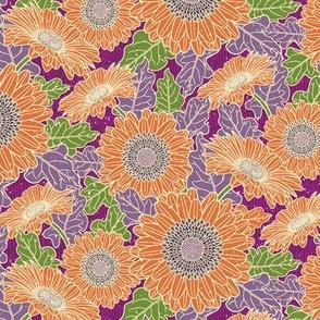 Gerbera Daisy-Orange