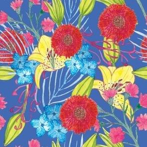 Spring Bouquet Blue