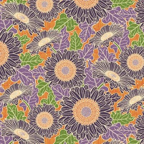 Gerbera Daisy-Purple