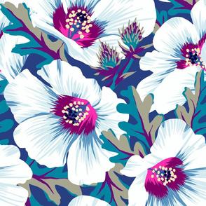 Puarangi New Zealand Hibiscus - dark - LARGE