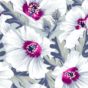 Puarangi New Zealand Hibiscus - light - LARGE