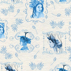 Mother nature toile