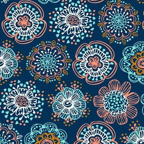 Whimsical Anaya Floral - Nail Polish
