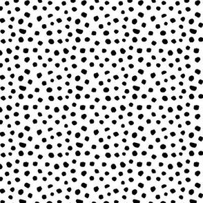 Little Polka Dots Black