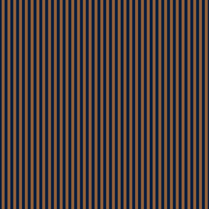 navy and tan quarter inch stripe