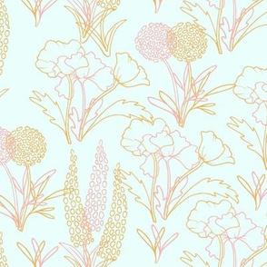 Meadow Slumbers Pink