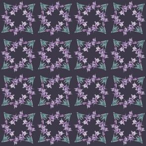 Lily Purple Geometric Dark