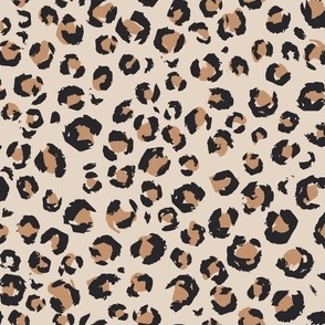 Medium // 2020 Animal Print brown and tan leopard print