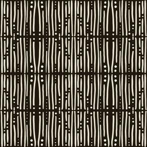 Shibori Stripes Dark