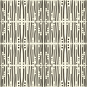 Shibori Stripes Ivory