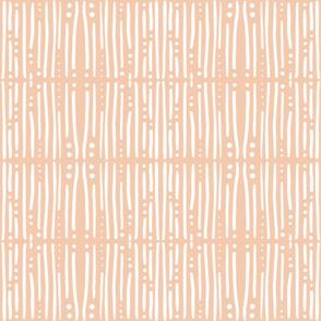 Shibori Stripes Pale Pink