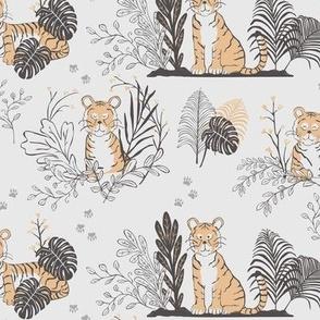 Tiger toile