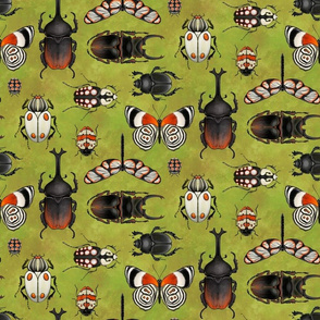 bugs and beetles (non directional repeat)