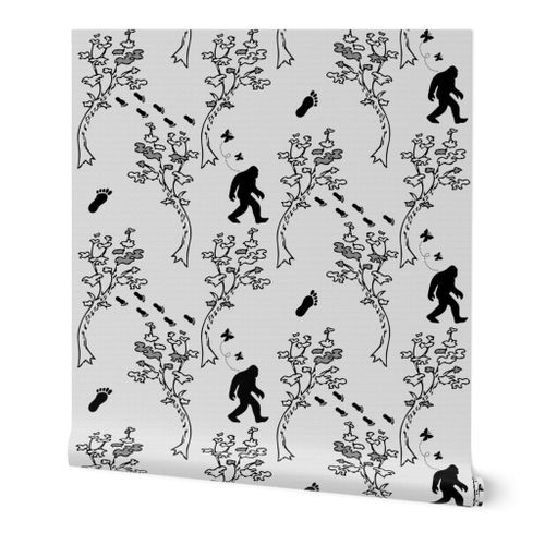 Off The Wall Bigfoot Sasquatch Toile