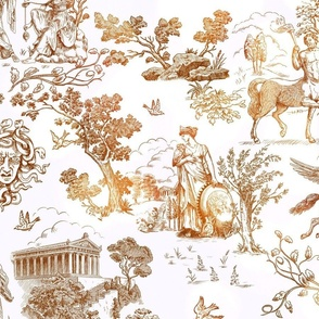Greek Myth Toile
