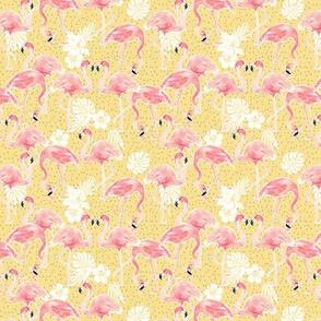 Tropicana Flamingo (gold) xxxsml