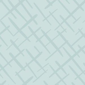 Paintbrush Crosshatch Ice Blue