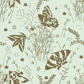 Meadow toile | mint