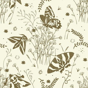 Meadow toile | offwhite