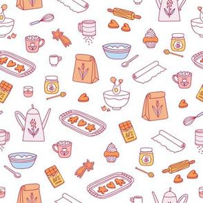 Home baking pattern