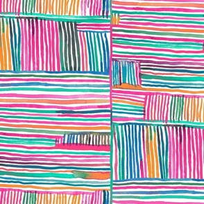 Linear meditation-Pink