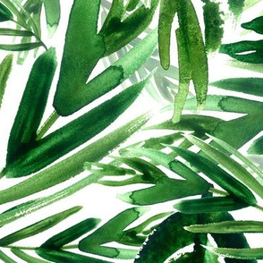 jungle green, large scale