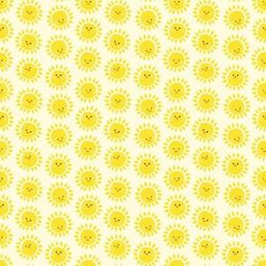 micro - Sunny Suns in white