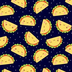 Happy Tacos in Space
