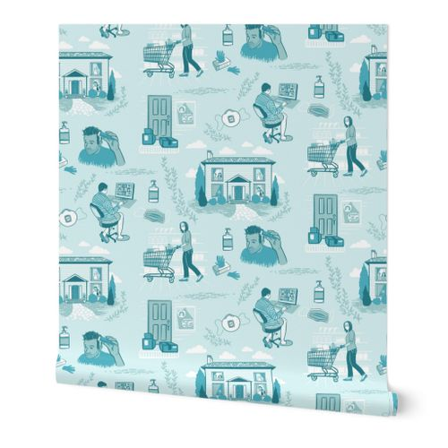 Stay Home Toile